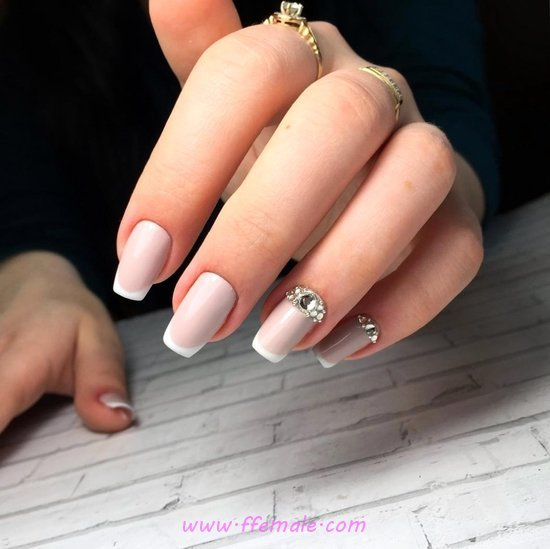 Ceremonial & Incredibly Gel Manicure Trend - elegant, nails, furnished, trendy