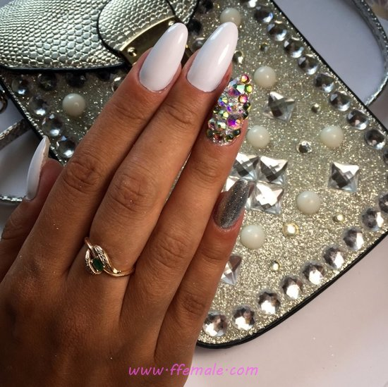 Ceremonial & Lovable Gel Nail Trend - handsome, simple, cute, nail