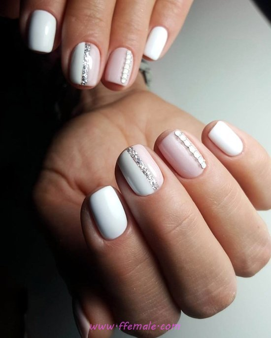 Ceremonial Pretty Gel Nails Idea - nails, extremelycute, smart