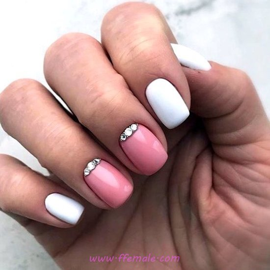 Ceremonial & Wonderful Nails Art Design - sweet, dainty, nailidea, nails, star
