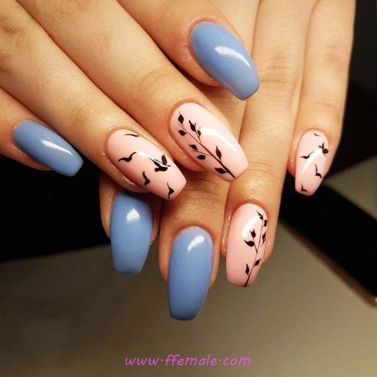 Charming And Sexy Acrylic Nail Design Ideas - diy, magic, lovely, nailart, nailidea