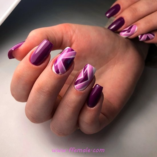 Charming Glamour Acrylic Manicure Art Design - nailart, furnished, selection, gel