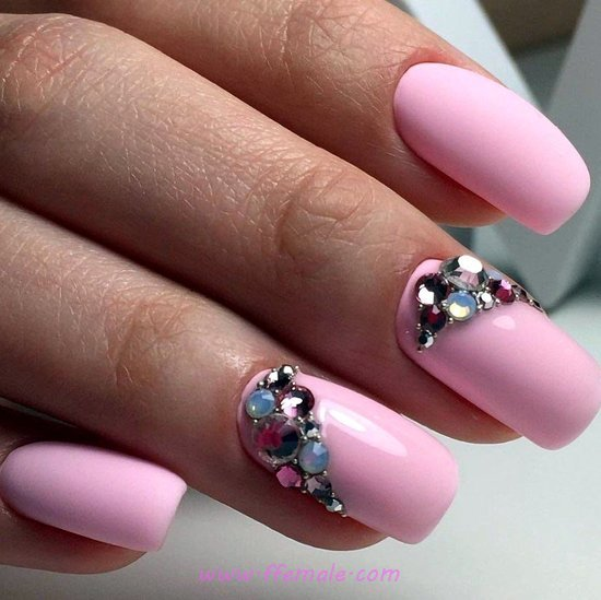 Chic Trendy Gel Nails - gelpolish, nailpolish, nailart