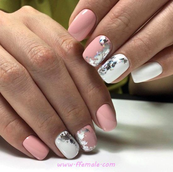 Classic And Lovely Acrylic Nails Art Design - cunning, extremelycute, nail