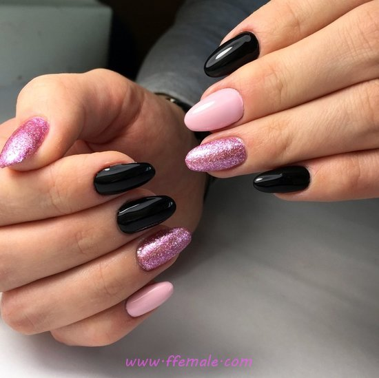 Classic And Nice Acrylic Manicure Art - furnished, nails, sweet, clever
