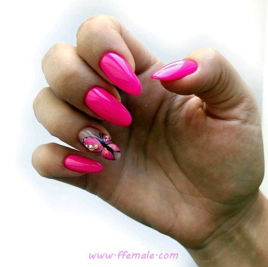 Classic And Stately Acrylic Nails Design Ideas - fashion, naildesigns, nail, sweet
