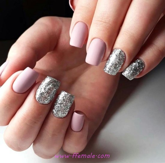 Classic & Graceful Acrylic Nail Idea - goingout, simple, nailstyle, nails