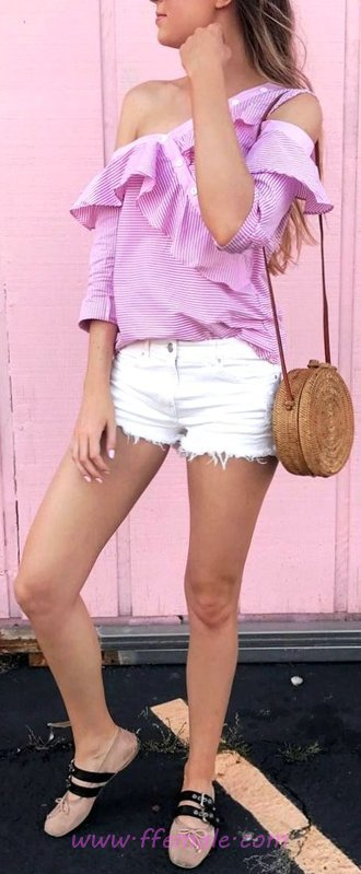Classic Top Summer Month Look - fancy, charming, female, photoshoot
