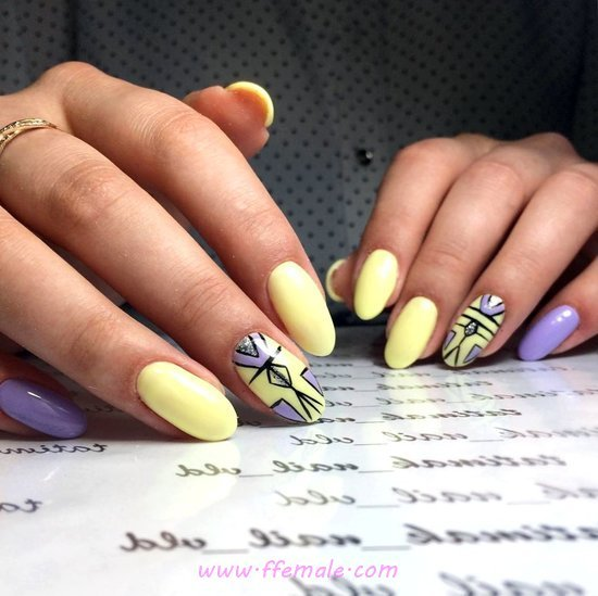 Classic Wonderful Gel Nails Ideas - nails, clever, goingout, precious