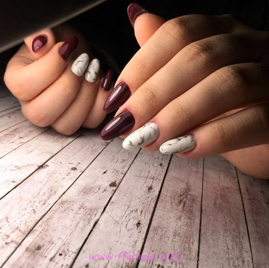 Classy And Graceful Manicure Art - shiny, nailart, amusing, classic