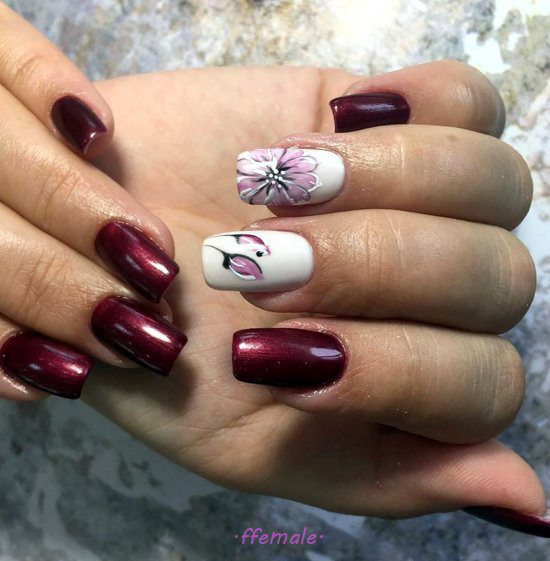 Classy And Iconic Gel Nail Art Design - dainty, nailart, graceful, nailsdone