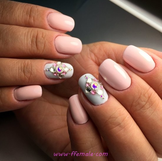 Classy And Lovely Acrylic Nails - classic, nailart, weekend, super
