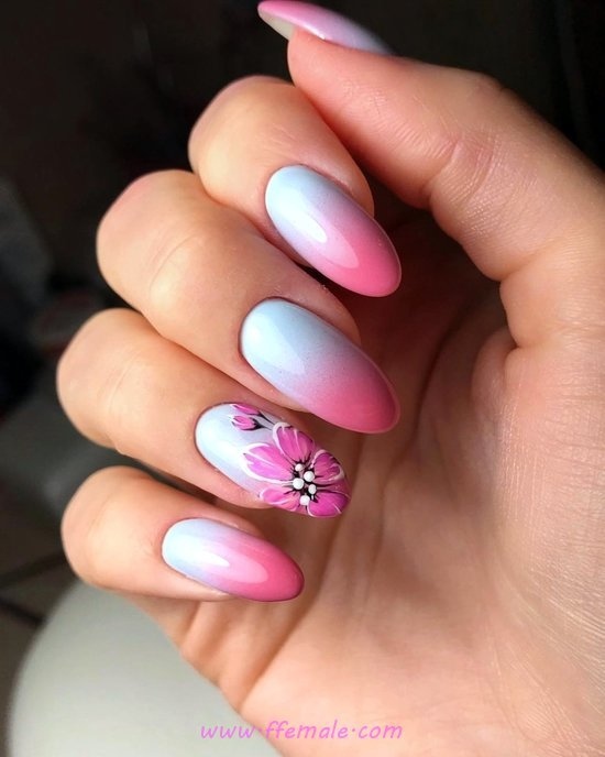 Classy Graceful Nail Art Ideas - nail, nailidea, gelnails, beautytips