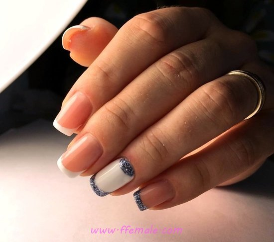 Classy Handy Acrylic Manicure Art Ideas - extremelycute, nail, sweetie, royal