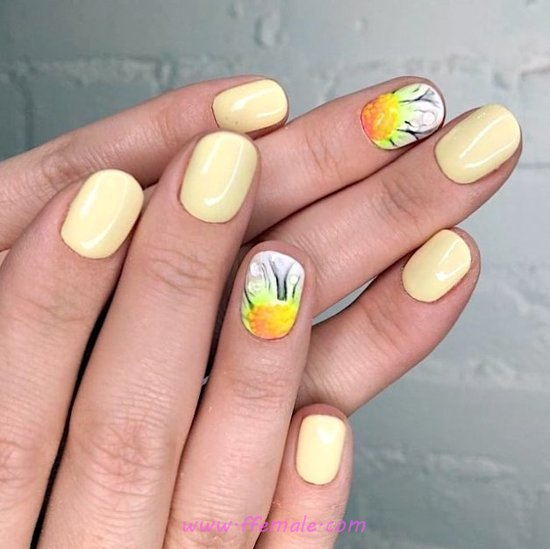Classy Iconic French Gel Nail Art - nail, adorable, diy, loveable