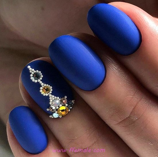 Colorful And Gorgeous Acrylic Manicure Art Ideas - nails, gel, hilarious, creative
