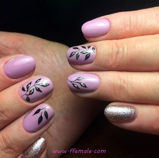 Colorful And Stately Gel Manicure Design Ideas - acrylicnails, naildiy, nail, elegant
