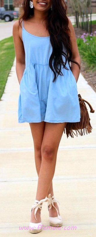 Comfortable And So Simple Warm Day Style - flashy, elegant, charming, wearing