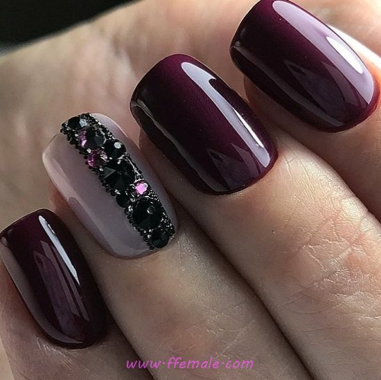 Cool And Orderly Acrylic Manicure Style - top, nail, photoshoot, getnails