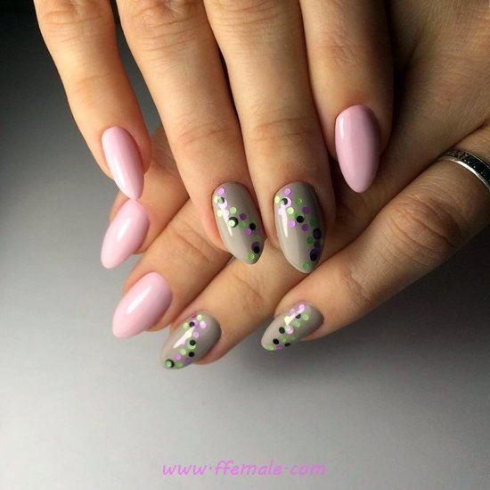 Cool & Glamour Manicure Art Design - nail, nailstyle, adorable, best
