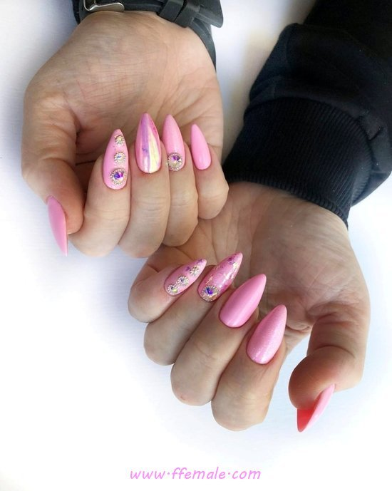 Cool & Hot Manicure - nails, nailstyle, cunning, sexiest