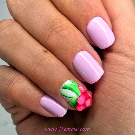Creative & Hot French Gel Manicure Design Ideas - nail, art, nailswag, extremelycute