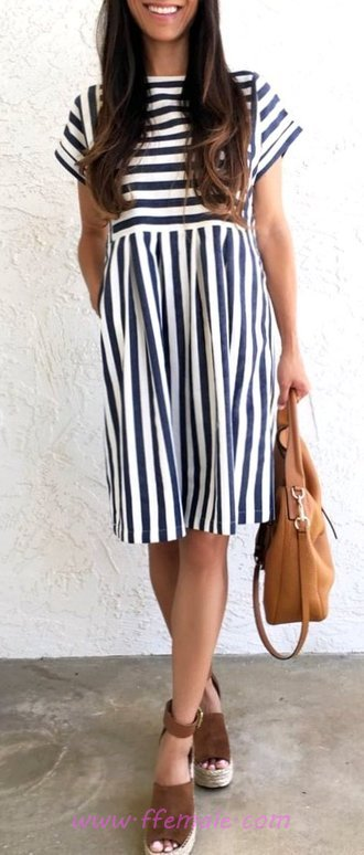 Cute And So Classic Summer Time Outfit - clothing, dressy, outfits