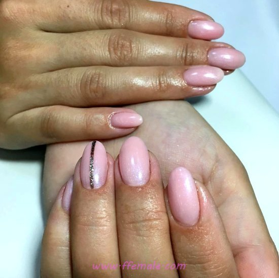 Cute And Stately French Gel Manicure Ideas - nice, vacation, nailart, nailidea