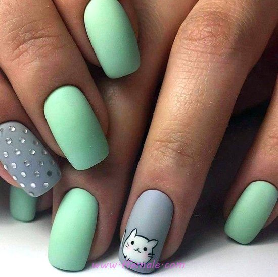 Cutie Wonderful Acrylic Nail - furnished, nails, naildesigns, star