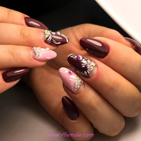 Dainty Simple Acrylic Nails Trend - trendy, gorgeous, nails