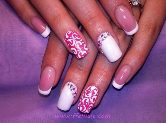 Delightful And Top Gel Nail Art Design - naildesigns, nail, vacation, cutie