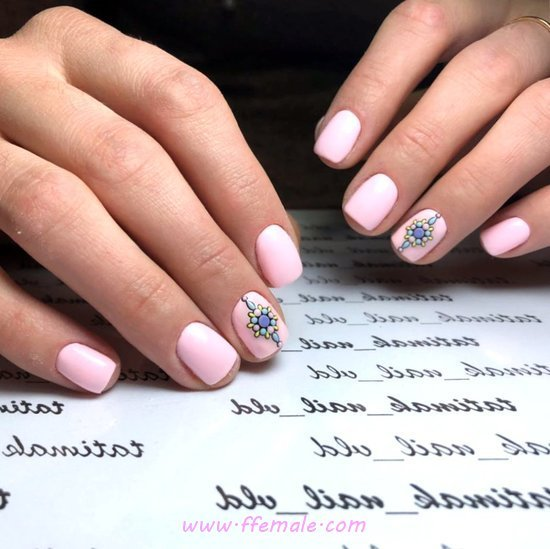 Delightful And Wonderful Nail Art Ideas - dreamy, nails, nailtutorial