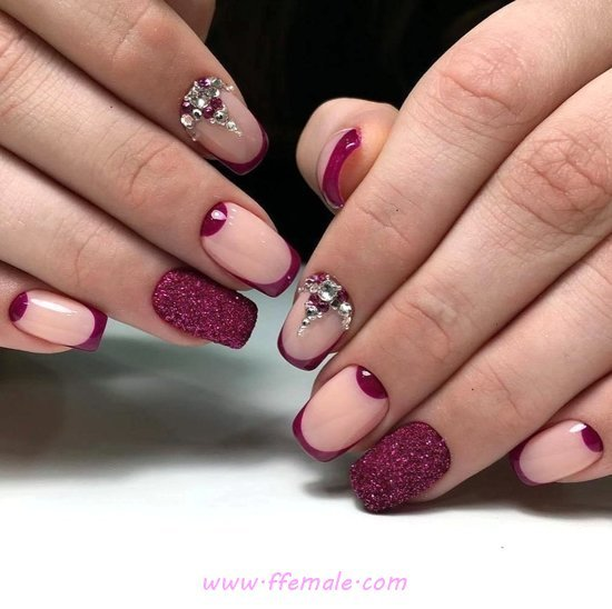 Dream & Graceful Gel Nails Style - classic, getnails, star, nail
