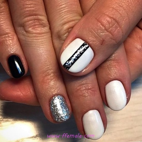 Dreamy And Easy Acrylic Manicure Art Design - graceful, nail, nailidea, dreamy