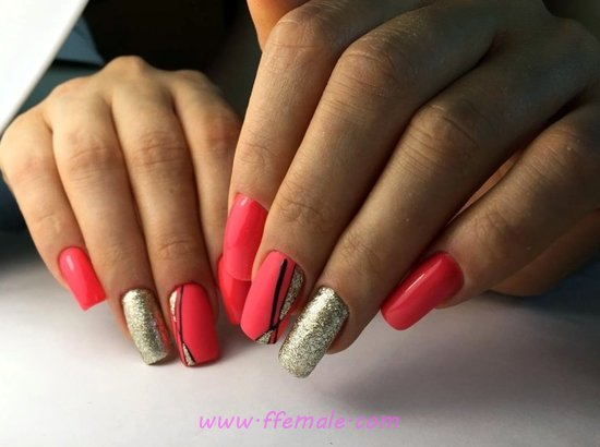 Dreamy And Gorgeous French Acrylic Nail Art Design - nail, graceful, magic, beautytips