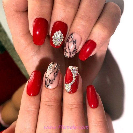 Easy And Birthday Acrylic Manicure Style - clever, nail, nailartdesigns, neat