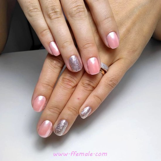 Easy And Casual French Acrylic Nails Trend - gelnails, nails, gorgeous, naildiy