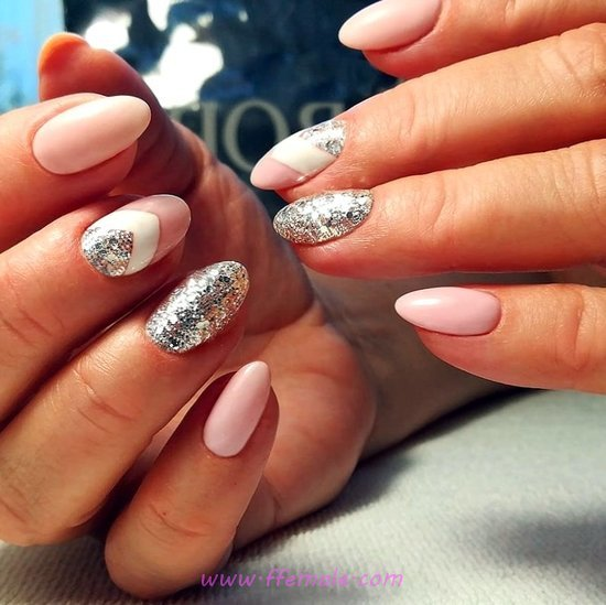 Easy And Ceremonial Gel Nails Art - trendy, cool, nailidea, nails, ideas