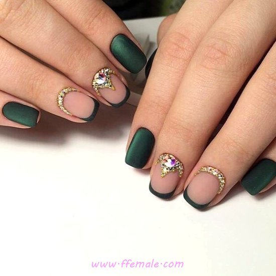 Easy Casual American Acrylic Manicure Ideas - sweet, nails, style, getnails, cool