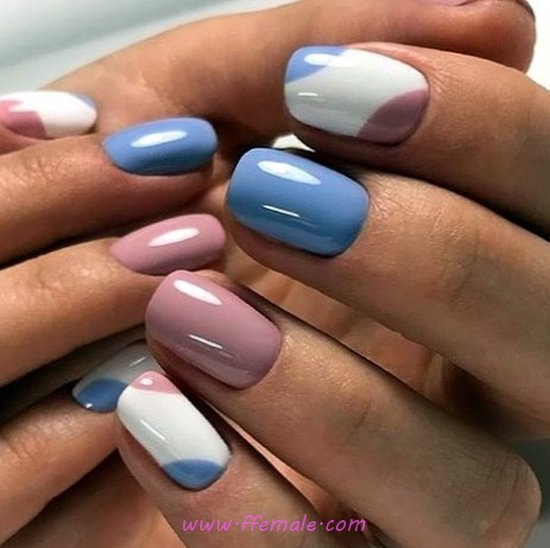 Easy Classic Nails - nail, style, lovable, beautytips