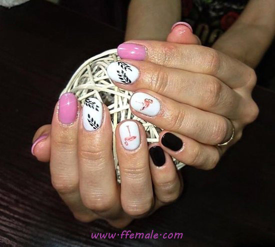 Easy Cute French Acrylic Nail - party, nailideas, nail, neat, dreamy