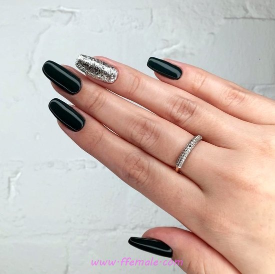 Easy Girly American Nails Trend - glamour, neat, delightful, nail, art