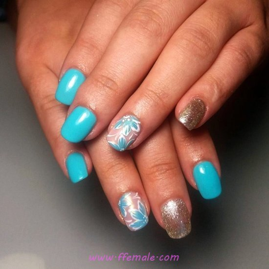 Easy Girly Gel Nails Style - neat, nailart, nailstyle, dainty