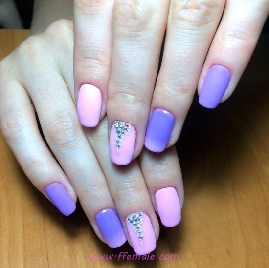 Elegant And Simple Gel Nails Art - nail, gorgeous, awesome, charming