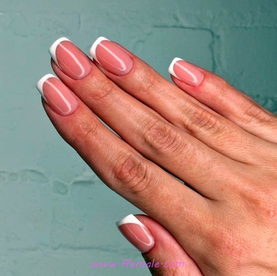 Elegant Top French Manicure Design Ideas - nailidea, nail, love, best, getnails