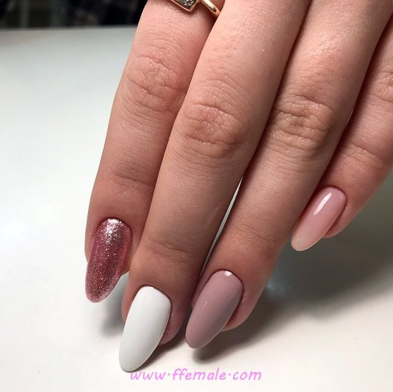 Enchanting And Glamour Nail Trend - trendy, ideas, classic, nail