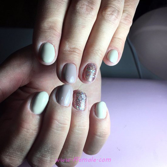 Enchanting & Loveable Acrylic Manicure Art - amusing, clever, handsome, nails