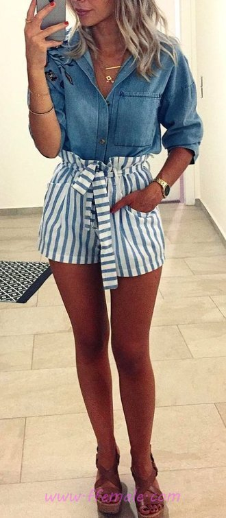 Extremely Cute And Comfortable Summer Fashion - posing, cool, modern, elegance