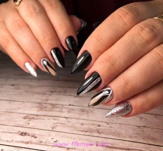 Fantastic And Handy Acrylic Nail Idea - nailart, enchanting, glamour, neat