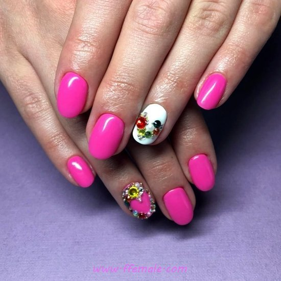 Fantastic Iconic Trend - loveable, cutie, nailart, gel